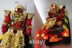 Rare Vintage 80's Robot Tiger Tank Cosmic Raider Force Space Toy New
