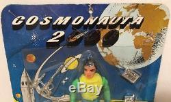Rare Vintage Cosmonauta 2000 Space Man Astronaut Archer Plastic Robot Figure NOS