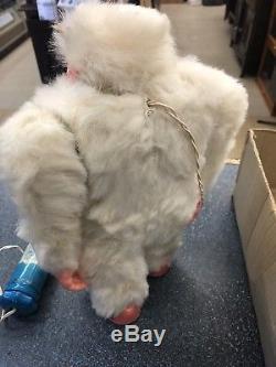 Rare Vintage Japan Marx Yeti Monster Abominable Snowman With Original Box 1960s