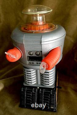 Rare Vintage Lost In Space Robot Toy Talks Lights