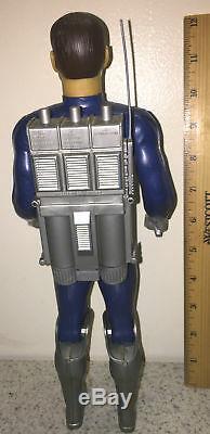 Rare Vintage Mattel 1967 Major Matt Mason Captain Lazer Figure In Original Box