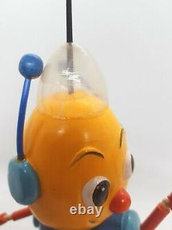 Rare Vintage Pelham Puppets Robot Bleep And Booster Space Toys Blue Peter boxed