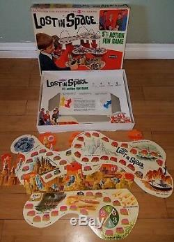 Rare Vintage Remco 1966 Lost In Space 3d Action Fun Board Game