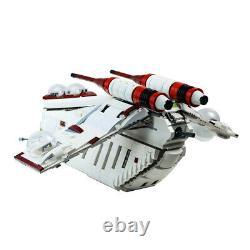 Republic Gunship Based Set 75021 Building Bricks Toys MOC-35919 for Star Wars