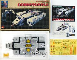 SPACE COBRA Deluxe Cobra Turtle Vintage Figure toys Popynica japan anime EMS