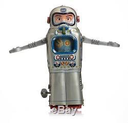 SPACE TIN TOY VINTAGE 60s ALPS TELEVISION SPACEMAN ROBOT