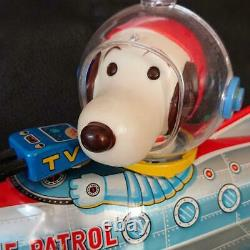 Space Patrol Japanese Tinplate Toy Modern Toys Vintage Made In Japan Good F/S