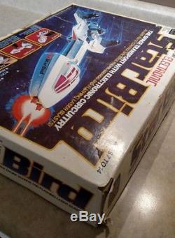 Star Bird Space Transport Milton Bradley Electronic Space Transport Ship Vintage