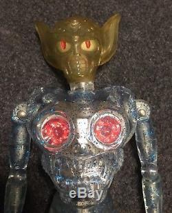 Takara Invader Henshin Cyborg Uchujin Z vintage Alien 8 Mego Scale Toy In Box