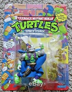 Teenage Mutant Ninja Turtles Space Usagi Yojimbo Vintage 1991 Tmnt Unpunched