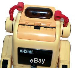 Tomy Enpitsu Kaziri Robot Pencil Sharpener Omnibot Japan Vintage Space Toy
