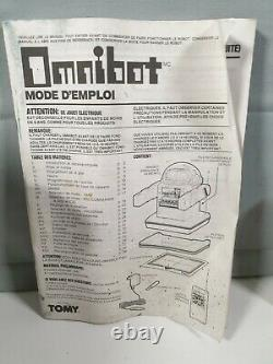 Tomy Omnibot Tr5000 Personal Robot Heroid Vintage Space Toy Japan Tested Working