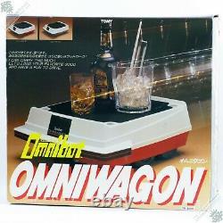 Tomy Omniwagon Omnibot 2000 Personal Robot Heroid Vintage Japanese Space Toy