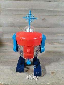 Topper Cragstan Horikawa Explo Robot Tin Plastic Japan Vintage Robotrons Space