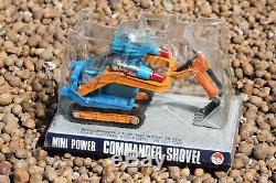 UFO Commander 7 Shovel RARE Vintage 1970's Metal Space Mining Robot Shinsei