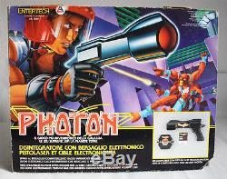 Ultra Rare 1986 Ljn Photon Electronic Space Gun Vintage New Mib