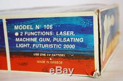 Ultra Rare Vintage 70's Solpa Greek Galaxy Space Ray Gun Made In Greece New Mib