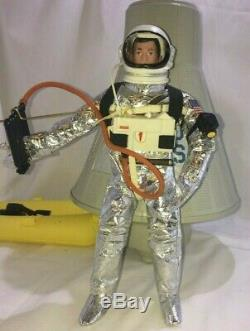 V. W. S. Vintage Gi Joe 1966 Official Space Capsule And And Astronaut Space Suit