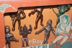 VINTAGE 1950'S ARCHER SPACE MEN in BOX