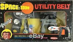 VINTAGE 1976 REMCO SPACE 1999 OFFICIAL UTILITY BELT IN ORIGINAL BOX! Unused