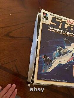 VINTAGE 1978 Milton Bradley Electronic STAR BIRD Space Ship Starbird in BOX