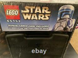 VINTAGE 2002 LEGO 65153 JANGO FETT SLAVE 1 W Case 7153 SEALED UNUSED STAR WARS