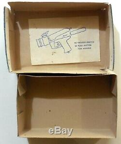 VINTAGE BOX tin toy space SIREN STAN SPACEMAN'S GUN 1960s sci-fi alien