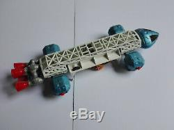 VINTAGE DINKY TOYS blue/white EAGLE FREIGHTER TRANSPORTER SPACE 1999 G. ANDERSON
