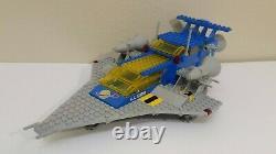 VINTAGE LEGO SPACE 497 928 GALAXY EXPLORER 100% COMPLETE w MANUAL & INSERT EUC