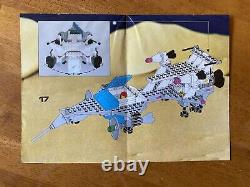 VINTAGE Lego Classic Space 6929 Starfleet Voyager 100% Complete with Instructions