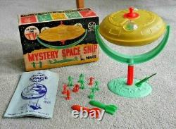 VINTAGE MARX TOYS MYSTERY SPACE SHIP GYRO TOY SET 1960's RARE & BOXED J206