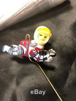 VINTAGE MASUDAYA U. S. A NASA APOLLO SPACE SHIP BATTERY OPERATED TIN Astronaut