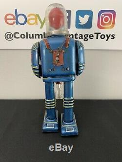 VINTAGE RARE Daiya Space Conqueror Man of Tomorrow Astronaut Robot Tin 1960s