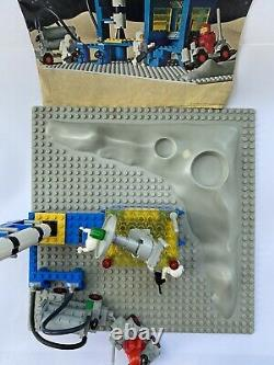 VINTAGE RETRO SPACE LEGO ALPHA 1 ROCKET BASE 920 Complete With INSTRUCTIONS