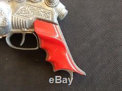 VINTAGE Space Age RAYGUN Cap Toy gun Hubley ATOMIC Disintegrator 1950s sci-fi