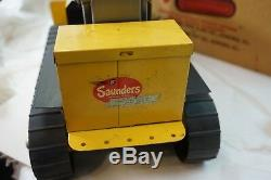 VINTAGE TOY ROBOT MARVELOUS MIKE TRACTOR WORKS ORIG BOX INSERT BATTERY OP d