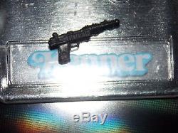 VTG 1984 1985 Kenner Star Wars A Wing Pilot Death Star Gunner BLACK blaster gun