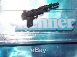 VTG 1984 1985 Star Wars POTF 17 A Wing Pilot Death Star Gunner blaster BLACK gun