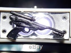 VTG 1984 1985 Star Wars POTF General Lando Battle Poncho Luke BLACK blaster gun