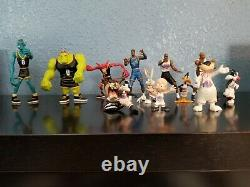 VTG 1996 Space Jam 13 Figure Lot Playmates Looney Toons Monstars Michael Jordan