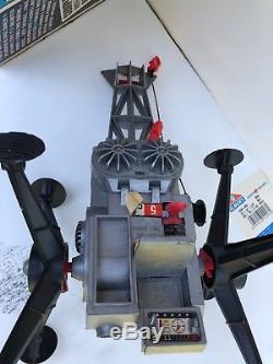 VTG Mattel Matt Mason Astronaut Figure Space Crawler Vehicle in Box & Works