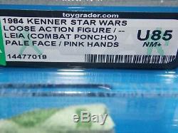 VTG19771984KennerStarWarsLeia Endor Combat PonchoAFA U 85NM+ mint case