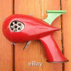Vintage 1935 Marx Flash Gordon Signal Pistol Atomic Space Gun Toy Red Tin Rare