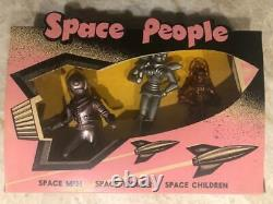 Vintage 1950's ARCHER SPACE PEOPLE No. 129 MINT OLD STORE STOCK Boxed NOS mib men