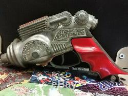 Vintage 1950's Hubley Atomic Disintegrator Space Ray Cap Gun Die Cast Sci-Fi