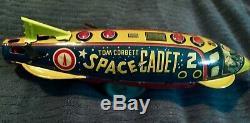 Vintage 1950's Tom Corbett Sparking Space Ship Space Cadet