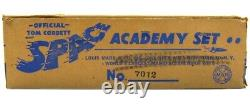 Vintage 1952 Marx Tom Corbett Captain Space Patrol Cadet Academy Playset withBox