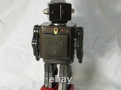Vintage 1960 HORIKAWA Machine gun type New Space Explorer Robot