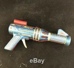 Vintage 1960s Astronaut Rocket Gun, ray gun, by Daiya, Japan