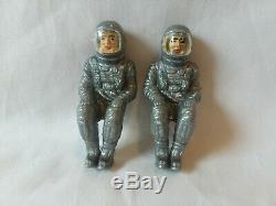 Vintage 1960s Gemini Apollo Space Capsule & Astronauts cake topper toy Wilton Co